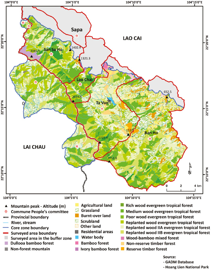 A protected area between subsistence and development