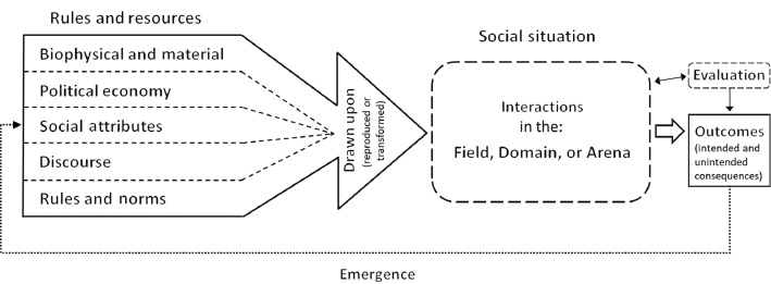 The Critical Institutional Analysis and Development (CIAD
