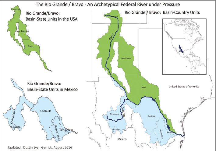 Map 31 Texas River Basins.Decentralisation And Drought Adaptation Applying The Subsidiarity